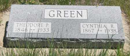 GREEN, CYNTHIA  R. - Cherry County, Nebraska | CYNTHIA  R. GREEN - Nebraska Gravestone Photos