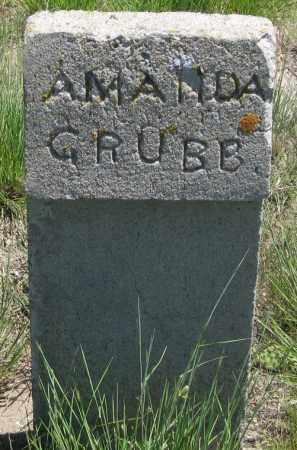 GRUBB, AMANDA - Cherry County, Nebraska | AMANDA GRUBB - Nebraska Gravestone Photos