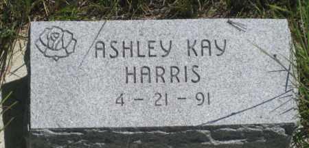 HARRIS, ASHLEY  KAY - Cherry County, Nebraska   ASHLEY  KAY HARRIS - Nebraska Gravestone Photos