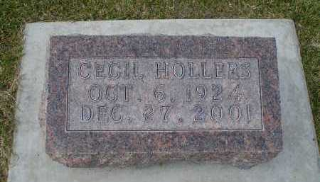 HOLLERS, CECIL - Cherry County, Nebraska | CECIL HOLLERS - Nebraska Gravestone Photos