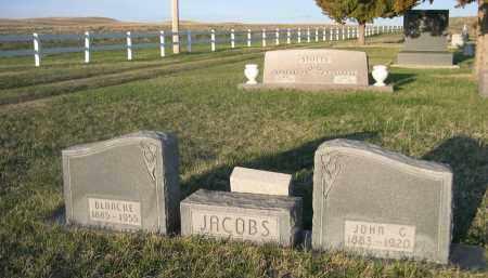 JACOBS, BLANCHE - Cherry County, Nebraska | BLANCHE JACOBS - Nebraska Gravestone Photos
