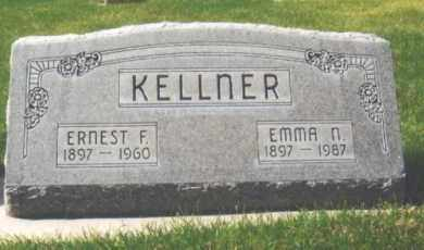 KELLNER, ERNEST F. - Cherry County, Nebraska | ERNEST F. KELLNER - Nebraska Gravestone Photos
