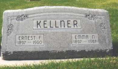 DUERING KELLNER, EMMA N. - Cherry County, Nebraska   EMMA N. DUERING KELLNER - Nebraska Gravestone Photos