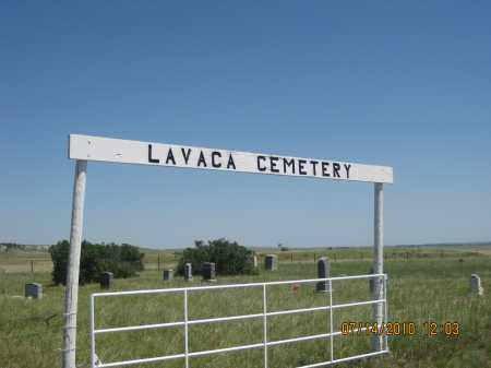 *LAVACA CEMETERY, GATE & SIGN - Cherry County, Nebraska | GATE & SIGN *LAVACA CEMETERY - Nebraska Gravestone Photos