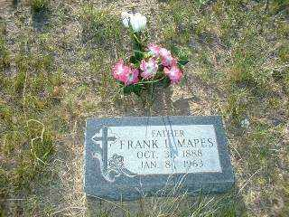 MAPES, FRANK - Cherry County, Nebraska | FRANK MAPES - Nebraska Gravestone Photos
