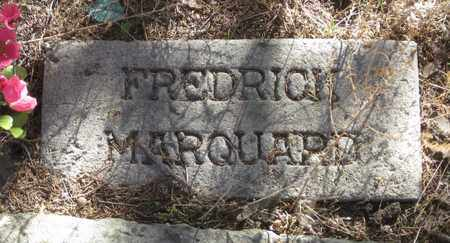 MARQUARD, FREDRICK - Cherry County, Nebraska | FREDRICK MARQUARD - Nebraska Gravestone Photos
