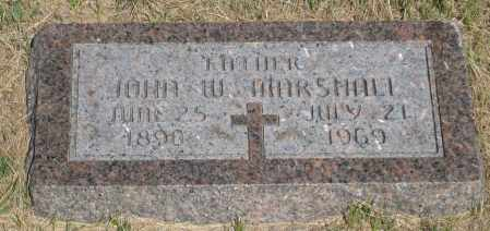 MARSHALL, JOHN W. - Cherry County, Nebraska | JOHN W. MARSHALL - Nebraska Gravestone Photos