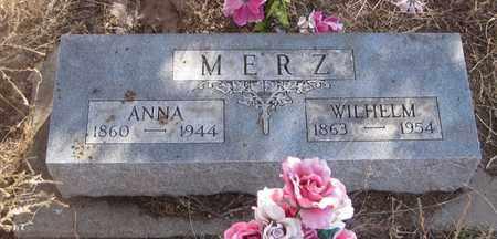 MERZ, WILHELM - Cherry County, Nebraska | WILHELM MERZ - Nebraska Gravestone Photos