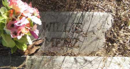 MERZ, WILLIE - Cherry County, Nebraska | WILLIE MERZ - Nebraska Gravestone Photos