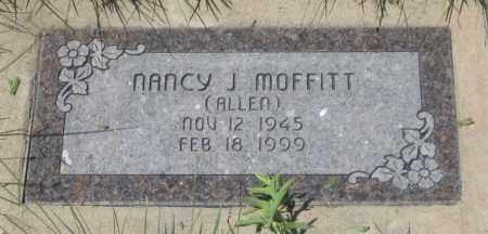 ALLEN MOFFITT, NANCY  J. - Cherry County, Nebraska | NANCY  J. ALLEN MOFFITT - Nebraska Gravestone Photos