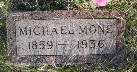 MONE, MICHAEL - Cherry County, Nebraska | MICHAEL MONE - Nebraska Gravestone Photos