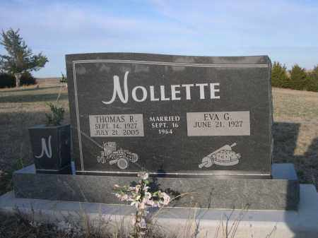 NOLLETTE, THOMAS R. - Cherry County, Nebraska | THOMAS R. NOLLETTE - Nebraska Gravestone Photos