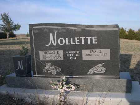 NOLLETTE, EVA G. - Cherry County, Nebraska | EVA G. NOLLETTE - Nebraska Gravestone Photos