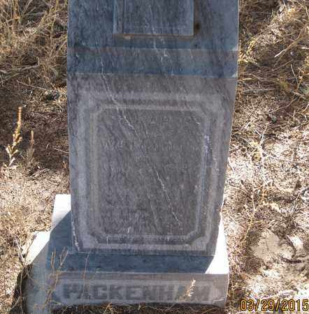 SCHOOLEY PACKENHAM, SARAH COOK - Cherry County, Nebraska | SARAH COOK SCHOOLEY PACKENHAM - Nebraska Gravestone Photos