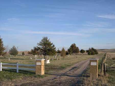 *PRAIRIE LAWN CEMETERY, ENTRANCE TO - Cherry County, Nebraska   ENTRANCE TO *PRAIRIE LAWN CEMETERY - Nebraska Gravestone Photos