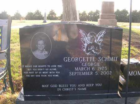 """SCHMIT, GEORGETTE """"GEORGIE"""" - Cherry County, Nebraska   GEORGETTE """"GEORGIE"""" SCHMIT - Nebraska Gravestone Photos"""