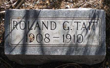 TAIT, ROLAND  G. - Cherry County, Nebraska | ROLAND  G. TAIT - Nebraska Gravestone Photos