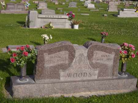 WOODS, ANNA - Cherry County, Nebraska   ANNA WOODS - Nebraska Gravestone Photos