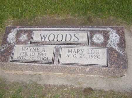 MOELLER WOODS, MARY LOU - Cherry County, Nebraska | MARY LOU MOELLER WOODS - Nebraska Gravestone Photos