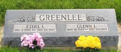GREENLEE, GLENN LEAMAN - Cheyenne County, Nebraska | GLENN LEAMAN GREENLEE - Nebraska Gravestone Photos