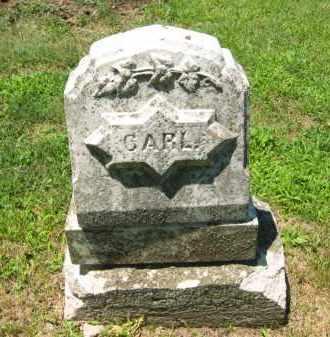 CARL, UNKNOWN - Clay County, Nebraska | UNKNOWN CARL - Nebraska Gravestone Photos