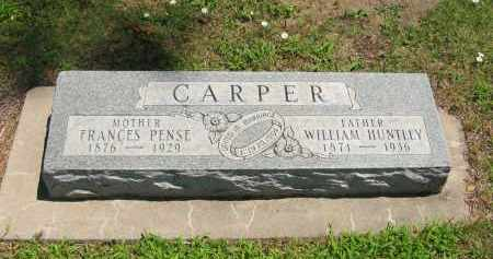 CARPER, FRANCES - Clay County, Nebraska | FRANCES CARPER - Nebraska Gravestone Photos