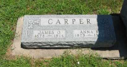 CARPER, JAMES O. - Clay County, Nebraska | JAMES O. CARPER - Nebraska Gravestone Photos
