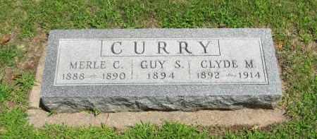 CURRY, MERLE C. - Clay County, Nebraska | MERLE C. CURRY - Nebraska Gravestone Photos