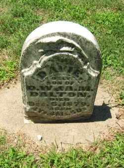 DALTON, DAVIE - Clay County, Nebraska   DAVIE DALTON - Nebraska Gravestone Photos