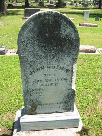 DAMON, JOHN H. - Clay County, Nebraska | JOHN H. DAMON - Nebraska Gravestone Photos