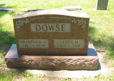 DOWSE, BRADFORD - Clay County, Nebraska | BRADFORD DOWSE - Nebraska Gravestone Photos