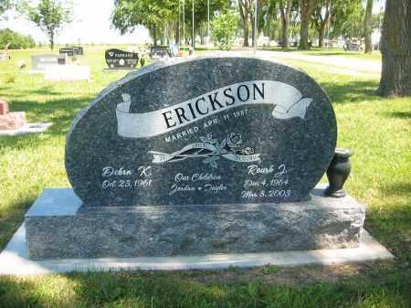 ERICKSON, DEBRA K. - Clay County, Nebraska | DEBRA K. ERICKSON - Nebraska Gravestone Photos