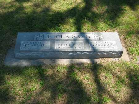 ERIKSON, HOWARD - Clay County, Nebraska | HOWARD ERIKSON - Nebraska Gravestone Photos