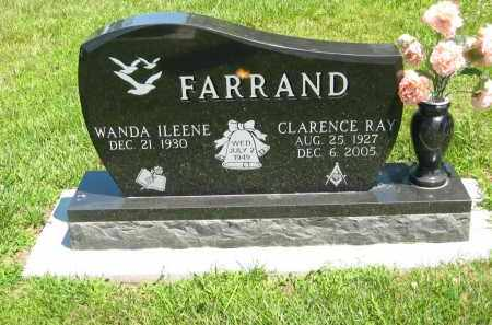 FARRAND, CLAERNCE RAY - Clay County, Nebraska | CLAERNCE RAY FARRAND - Nebraska Gravestone Photos