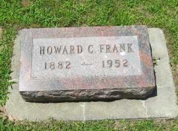 FRANK, HOWARD C - Clay County, Nebraska | HOWARD C FRANK - Nebraska Gravestone Photos
