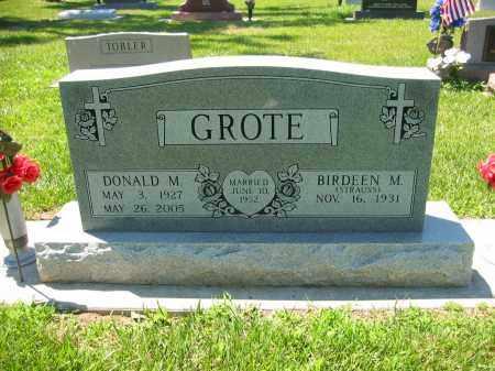 GROTE, DONALD M. - Clay County, Nebraska | DONALD M. GROTE - Nebraska Gravestone Photos
