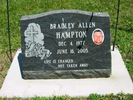 HAMPTON, BRADLEY ALLEN - Clay County, Nebraska | BRADLEY ALLEN HAMPTON - Nebraska Gravestone Photos