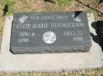 HENDRICKSON, KYLIE MARIE - Clay County, Nebraska   KYLIE MARIE HENDRICKSON - Nebraska Gravestone Photos
