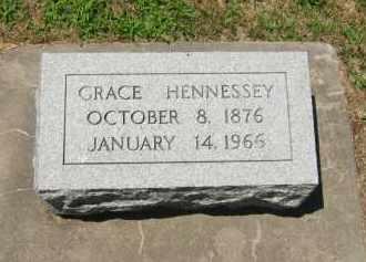 HENNESSEY, GRACE - Clay County, Nebraska | GRACE HENNESSEY - Nebraska Gravestone Photos