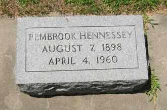 HENNESSEY, PEMBROOK - Clay County, Nebraska | PEMBROOK HENNESSEY - Nebraska Gravestone Photos