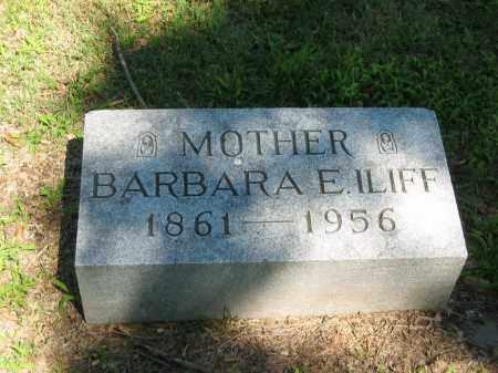 ILIFF, BARBARA E. - Clay County, Nebraska   BARBARA E. ILIFF - Nebraska Gravestone Photos