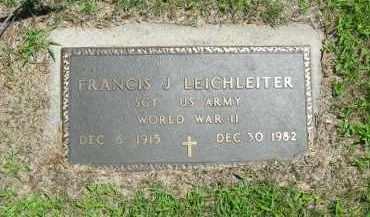 LEICHLEITER, FRANCIS - Clay County, Nebraska | FRANCIS LEICHLEITER - Nebraska Gravestone Photos