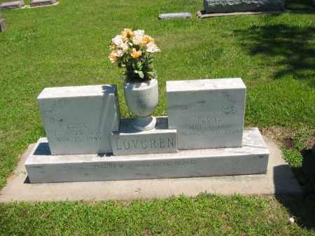 LOVEGREN, FLOYD - Clay County, Nebraska | FLOYD LOVEGREN - Nebraska Gravestone Photos