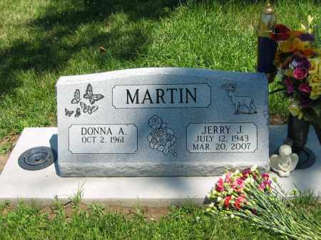 MARTIN, DONNA A. - Clay County, Nebraska | DONNA A. MARTIN - Nebraska Gravestone Photos