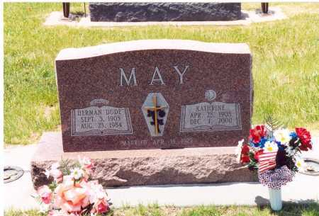"MAY, HERMAN ""DUDE"" - Clay County, Nebraska 
