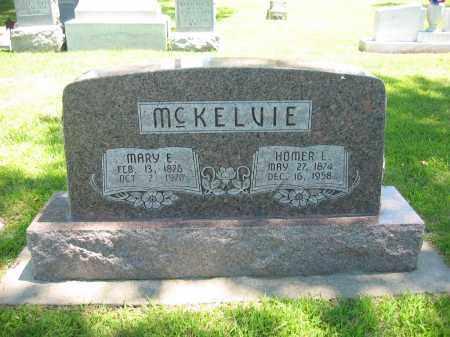 MCKELVIE, MARY E. - Clay County, Nebraska   MARY E. MCKELVIE - Nebraska Gravestone Photos