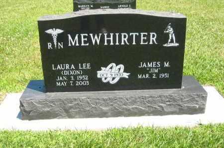 DIXON MEWHIRTER, LAURA LEE - Clay County, Nebraska | LAURA LEE DIXON MEWHIRTER - Nebraska Gravestone Photos