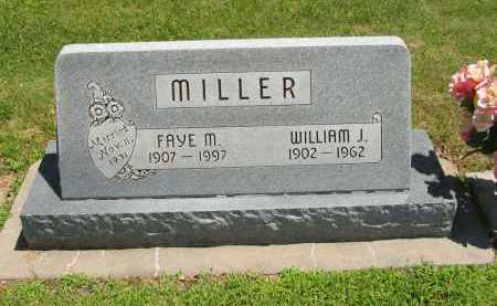 MILLER, WILLIAM J - Clay County, Nebraska   WILLIAM J MILLER - Nebraska Gravestone Photos