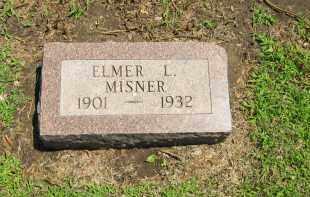 MISNER, ELMER L - Clay County, Nebraska | ELMER L MISNER - Nebraska Gravestone Photos