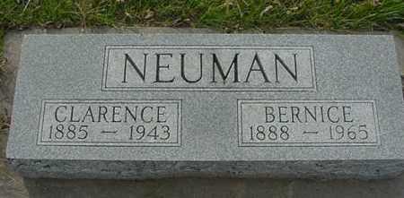 NEUMAN, CLARENCE - Clay County, Nebraska | CLARENCE NEUMAN - Nebraska Gravestone Photos